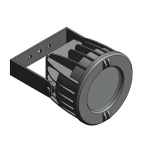 Download CAD files for Floodlight – EVL60 (Wall Mounted)