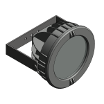 Download CAD files for Floodlight – EVL70 (Wall Mounted)
