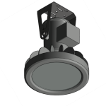 Download CAD files for Floodlight – EWL100 (Ceiling Mounted)