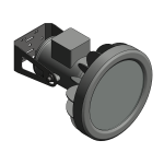 Download CAD files for Floodlight – EWL100 (Wall Mounted)