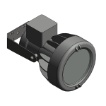 Download CAD files for Floodlight – EWL70 (Wall Mounted)