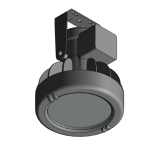 Download CAD files for Floodlight – EWL80 (Ceiling Mounted)