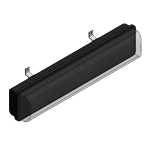 Download CAD files for Linear Light – EXEL-L (Wall Mounted)